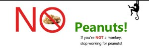 No Peanuts Movement!